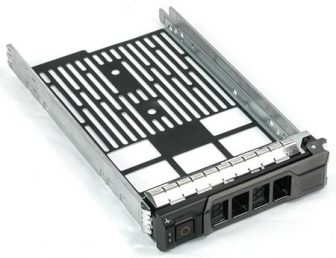 """Dell PowerEdge LFF 3.5"""" SAS/SATA HDD Hot Swap Tray F238F X968D HDD keret"""