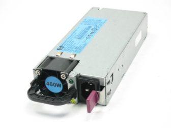 HP Proilant DL ML G6 G7 Series Redundáns Hot Plug Power Supply 460W HP 511777-001 499250-101 DPS-460 EB Tápegység