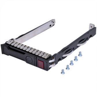 "HP Proilant Gen8 Gen9 SFF 2.5"" SAS/SATA HDD Hot Swap Tray HDD Caddy HDD Keret HP 651687-001"