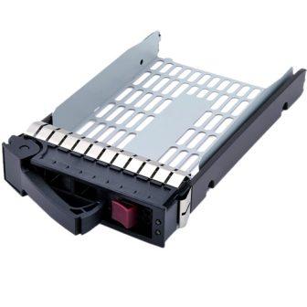 """HP Proilant DL ML G5 G6 G7 LFF 3.5"""" SAS/SATA HDD Hot Swap Tray HDD Caddy HDD Keret HP 373211-001"""