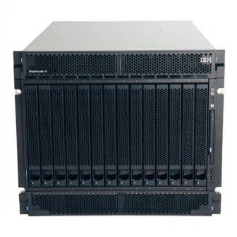 IBM BladeCenter 8852-4XG H Chassis 4x2880W PSU DVD 2x Blower 5,5A 840W