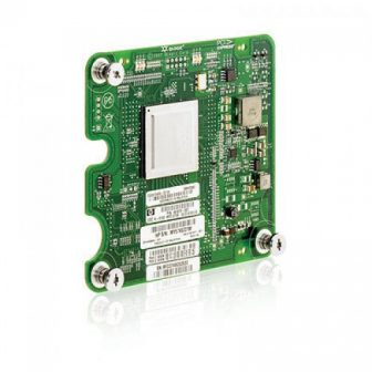 Qlogic QMH2562 8Gb Fibre Channel Dual Port Mezzanine Board HBA Host Bus  c-Class BladeSystem HP 451872-001 451871-B21