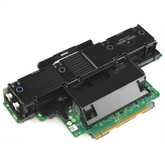 Dell PowerEdge R910 0M654T Memory Riser Card 8 Slot DDR3