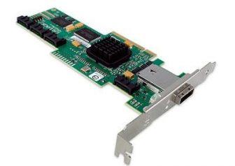 LSI SAS3445E-R 8port Host Bus Adapter 3Gbps SAS/SATA HBA PCI-e High Profile 4x SATA 1x miniSAS 8088 IBM 44E8701