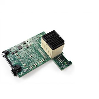 Qlogic QME2572 Dual Port 8Gbps Fibre Channel Mezzanine Network Card Dell 0W7KT8 W7KT8 02H47D 0YKR24 Dell Blade Servers
