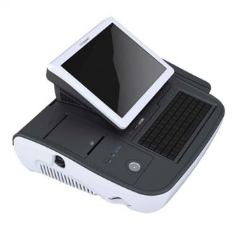 PosBank miniO II All-In-One POS Intel Atom N270 1,7GHz 1GB RAM 32GB SSD Hdd 10.1' Touchscreen LCD Thermal Printer Kasszarendszer
