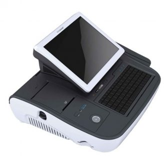 PosBank miniO II All-In-One POS Intel Atom N270 1,7GHz 1GB RAM 32GB SSD Hdd 10.1' Touchscreen LCD Thermal Printer Kasszarendszer