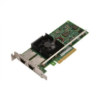 Intel X540-T2 10GbE Dual Port Network Interface Card NIC Controller PCI-e Low Profile Dual RJ45 Dell 3DFV8