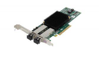 Emulex LightPulse LPe12002 8Gbps PCI-e Dual Port Fibre Channel HBA Host Bus Adapter High Profile HP AJ763-63003 697890-001 489193-001