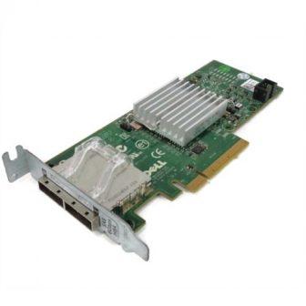 Dell Perc H200E SAS HBA 6Gbps PCI-e Dual Port SAS Host Bud Adapter 2x miniSAS 8088 Low Profile Dell 03DDJT