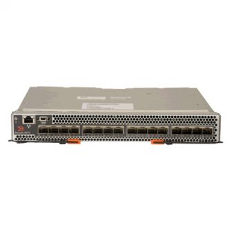 IBM BladeCenter Brocade 8470 Converged 10GbE FCoE Switch IBM 69Y1911 69Y1909 16x SFP+ 10/1GbE 1x RJ45 1x RS232 Lenovo 69Y1909