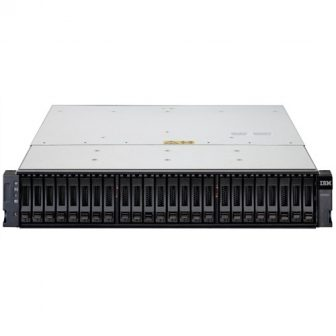 IBM TotalStorage DS3524 24SFF HDD Bay Dual SAS RAID Controller 68Y8481 68Y8431 5x 600GB SAS HDD 8x miniSAS 8088 Host 2x 585W PSU