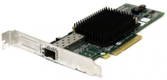 Emulex LPe12000 81E 8Gbps Single Port PCIe Fibre Channel High Profile Host Bus Adapter HP StorageWorks AJ762 697889-001
