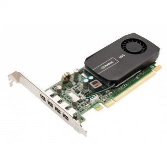 nVidia Quadro NVS 510 2GB GDDR3 64Bit 3840 x 2160px PCI-e Quad mini DisplayPort High Profile VGA