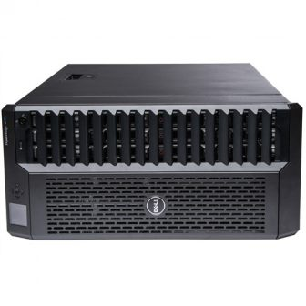 Dell PowerEdge VRTX Modular Platform Blade Chassis 24SFF HDD Bay 4x Dell PowerEdge M Series Blade Bay 1x CMC 1x Perc8 1GB RAID 4x PSU Rack