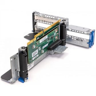 HP DL380e Gen8 G8 Risercard 4x PCI-e Slot with Riser cage Bracket 684895-001 647406-001 684898-001