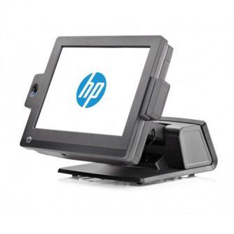 HP RP7 Retail System Model 7800 Intel Celeron G540 2,5GHz 4GB DDR3 RAM 0GB HDD Wlan 15' Touchscreen LCD POS Kasszarendszer
