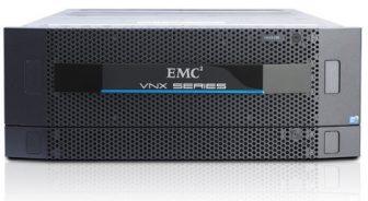 EMC² VNX5300 TRPE VNX Storage System Enclosure 25SFF 5,4TB SAS HDD EMC² Control Station Celera Rack 2x Management Module 2x 400W PSU