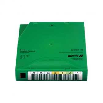 HPE Ultrium LTO-8 Tape 30TB RW Adatkazetta Data Cartridge HPE Q2078A