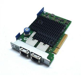HP Ethernet 10Gb 2-port 561FLR-T RJ45 Adapter Dual Port PCI-e NIC Card HP 701525-001 700697-001 HSTNS-B007