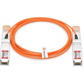 Mellanox Active Fiber Optic Network Cable VPI up to 56Gbs QSFP+ to QSFP+ AOC 5m MC220731V-005 Kábel