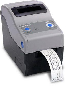 SATO CG208TT TT HF RFID USB RS-232C Desktop Thermal Transfer Receipt POS USB Printer Blokknyomtató WWCG20032