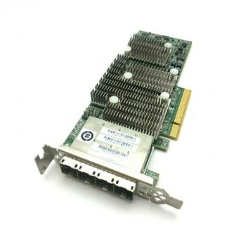 LSI Logic SAS9206-16e Host Bus Adapter External Controller 6Gbps SAS HBA JBOD RAID 0,1,10 PCI-e Low Profile 4x minSAS 8644 Dell 0TFJRW