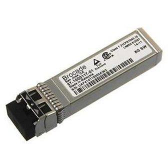 Brocade 8GB Gbic Optical Transceiver 8Gbps Fibre Channel FC SWL SFP+ Short Wavelength 850nm 57-1000117-01