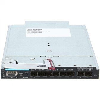 HP ProCurve 6120XG 10GbE 8 Port Blade Switch Module for c-Class BladeSystem 8x SFP HP 516733-B21 708069-001