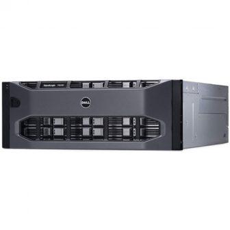 DELL EqualLogic PS6100XV E05J001 Storage 4,8TB 15K SAS Hdd 24LFF Dual (2x) 4port GbE ISCSI Controller Type 11 2x PSU