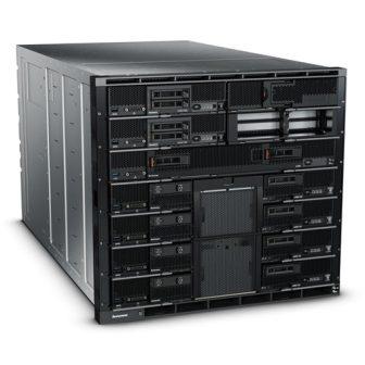 IBM Flex System Enterprise Chassis 8721 6x2500W PSU 1x Management Module 10x Hot-swap Fan Module 81Y281 94Y5803