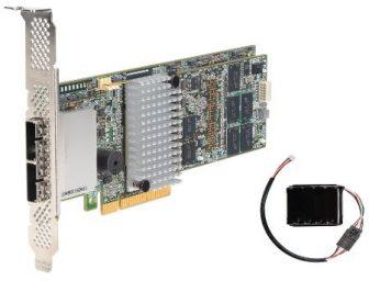 Intel RS25SB080 6Gbps dual core ROC 1GB LSI2208 RAID Controller PCI-e Battery Kit