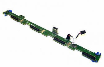 "Dell PowerEdge R320 R420 4x 3.5"" LFF HDD SAS Backplane CN-0P7H13 P7H13"
