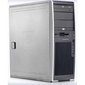 HP xw4600 Intel Core 2 Duo E8500 3,16GHz 2GB RAM 500GB HDD DVD noVGA 250W PSU B-Class