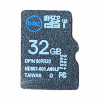 Dell 32GB vFlash MiniSDHC Class 10 SD Card iDRAC VMware 385-BBKK 00PD22 0PD22