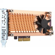 QNAP QM2-2P-344 Expansion Card Dual M.2 to PCI Express Gen3 x4 Converter M.2 Solid State Drive Átalakító adapter keret (NEW)