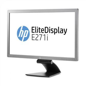 "HP EliteDisplay E271i 27"" 68,60cm IPS LED-Backlight FullHD 7ms 250cd/m2 1920x1080px, VGA, DVI, Displayport USB HUB Pivot Monitor D7Z72AA"