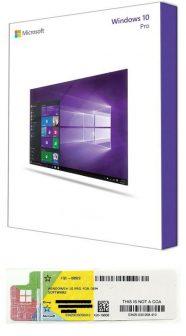 Windows 10 Professional 32/64 bit REFURBISHED, magyar, laptop/PC-vel vásárolható