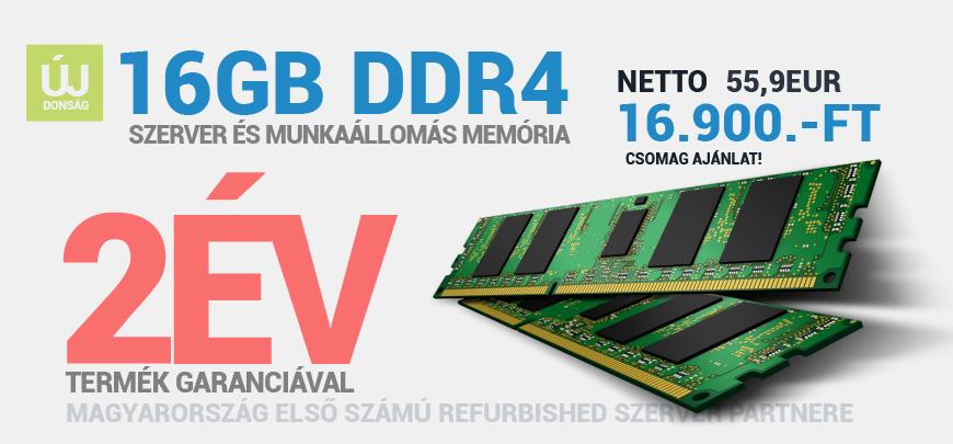 16GB DDR4 PC4 17000R RAM AKCIÓ