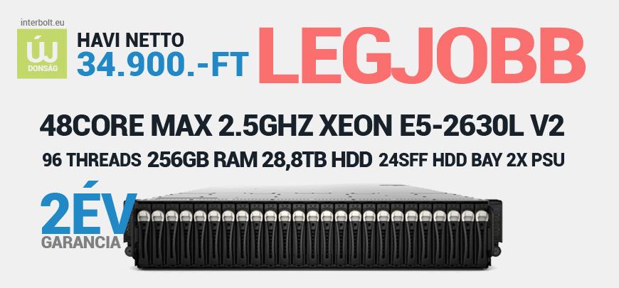 Dell PowerEdge C6220 4Node Server 8x Xeon 6Core E5-2630Lv2 2,4GHz 256GB RAM 24SFF Hdd Bay 28,8TB SAS HDD 2x 1200W PSU