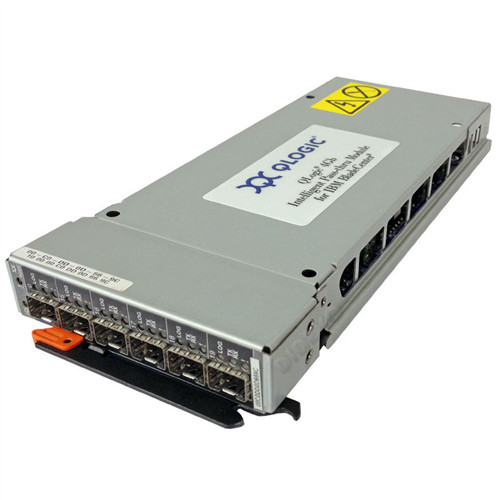 QLogic 4 GB Intelligent Pass-Thru Module and SAN Switch Module IBM BladeCenter FRU 43W6720 43W6723