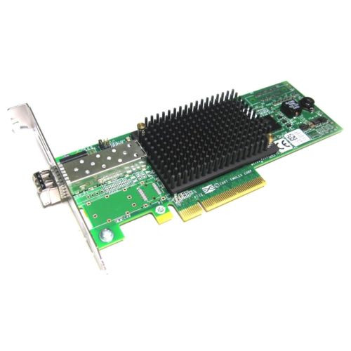 Emulex LightPulse LPe12002 8Gbps PCI-e Single Port Fibre Channel HBA Host Bus Adapter Card High Profile Dell 0C855M