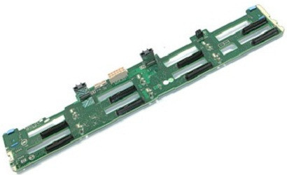 Dell PowerEdge R720 8x 3.5-inch LFF HDD SAS Backplane CN-0RVVMP 0Y4HYG